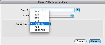 export-video