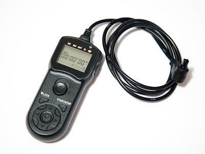 Intervalometro adquirido en Gadget Infinity para usar con reflex Canon