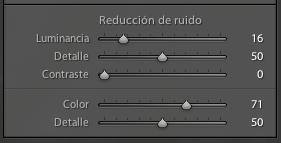 Panel de reducción de ruido de Lightroom 3 Beta 2